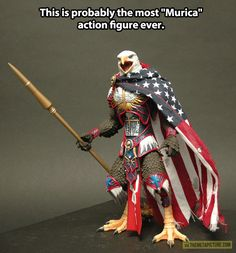 Alfred approves of this. <- I can only imagine Alfred playing with this along with his toy soldiers he got from England lol... :D #Hetalia #America #Murica