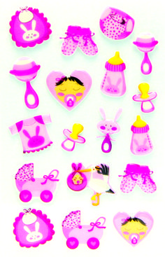 small Multicolore Maildor Stickers Adesivi