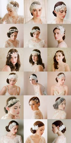 The bride hair band