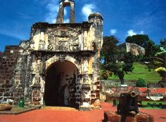 The-ruins-of-A-Famosa-Malaka-Malaysia