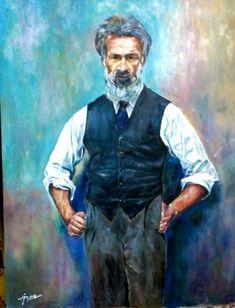 Pictura in ulei pe carton pânzat. Dimensiune 80 cm x 65 cm . Constantin Brancusi, Paintings, Fictional Characters, Design, Art, Paint, Painting Art, Kunst, Draw