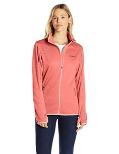 Columbia Women's Sapphire Trail Fleece Jacket, Lychee, Small ** More info could be found at the affiliate link Amazon.com on image.