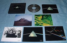 Picture Boxes, Vintage Vinyl Records, Cd Album, 20th Anniversary, Pink Floyd, Lps, Dark Side, The Darkest, Moon