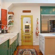 Farmhouse - farmhouse - Kitchen - Los Angeles - Alison Kandler Interior Design