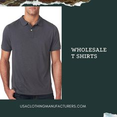 Want to order the latest trends of bulk menswear t shirts and other wholesale clothes at best deals? Then get in touch with USA Clothing Manufacturers and order now. You can also customize them to perfection. Mens Wholesale Clothing, Wholesale Blank T Shirts, Wholesale Blanks, Cool T Shirts, Latest Trends, Menswear, Touch, Usa, Stylish