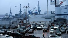 Navy, Trump planning biggest fleet expansion to deter Russian, Chinese threats | http://fxn.ws/2jt4PUG In this Tuesday, Jan. 3, 2017 photo, a shipyard worker walks to his car at the end of the workday at Bath Iron Works in Bath, Maine.