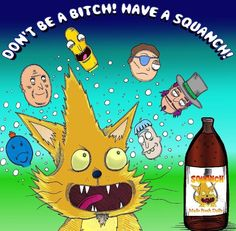 Rick and Morty x Squanch