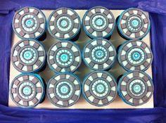 Arc Reactors Cupcakes