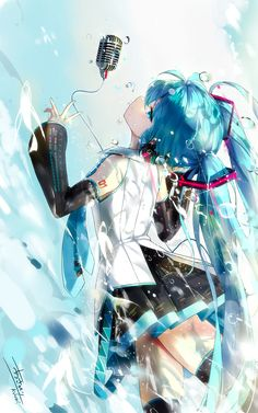 Search free hatsune miku Wallpapers on Zedge and personalize your phone to suit you. Manga Kawaii, Kawaii Anime Girl, Anime Art Girl, Anime Girls, Anime Chibi, Manga Anime, Vocaloid, Miku Chan, Anime Music