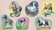 I remember these stickers and how horrible the glue tasted!  Did all Sunday School teachers use these?