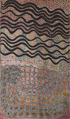 Untitled (c.1975) attributed to Mick Namarari Tjapaltjarri and/or Timmy Payungka Tjapangarti