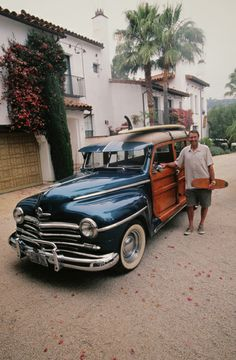 1948 Plymouth Woodie Wagon!
