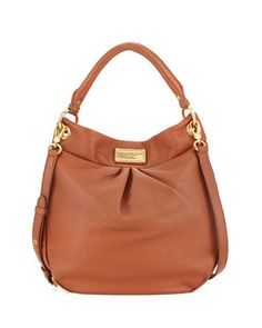 Classic Q Hillier Hobo Bag, Smoked Almond by MARC by Marc Jacobs at Neiman Marcus.SWOON!