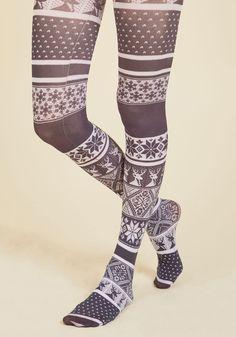Tights & Socks - Flake It 'Til You Make It Tights