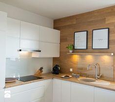 Aranżacje wnętrz - Kuchnia: Mieszkanie Wiczlino - Konkurs - STUDIOLOKO. Przeglądaj, dodawaj i zapisuj najlepsze zdjęcia, pomysły i inspiracje designerskie. W bazie mamy już prawie milion fotografii!