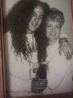 MIKE STARR WITH HIS MOM, GAYLE. <3