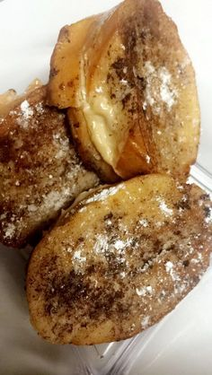 brown sugar and cinnamon cream cheese stuffed french toast