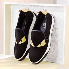 Slip on your FENDI sneaks and hit the pavement.