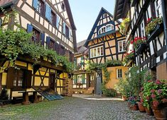13th century village in Baden-Württemberg, Germany