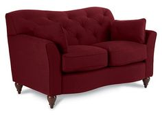 Malina Premier Stationary Loveseat by La-Z-Boy
