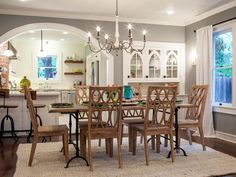 Chip and Joanna Gaines restore the classic charm of a 1927 Waco home for two returning Baylor alums, adding craftsman accents and custom updates while retaining some keynote original features.