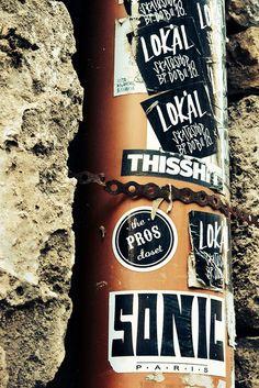 Sticker graffiti, Budapest | Flickr - Photo Sharing!