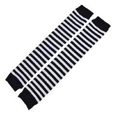 Black White Stripes Pattern Over Knee Stretchy Knit Winter Leg Warmers for Women Allegra K http://www.amazon.com/dp/B00CFL9TGS/ref=cm_sw_r_pi_dp_4Q6uub1QEXR0X