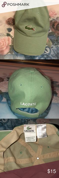 LACOSTE HAT😜🧢 Great Condition not worn😁👈 LACOSTE Accessories Hats