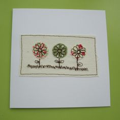 Flowers card £2.80