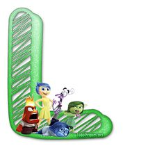 Alfabeto de IntensaMente Abc For Kids, Alphabet, Blogger Templates, Hallows Eve, Tricks, Display, Outdoor Decor, Party, Tadashi