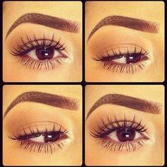 This eyebrow/eyelash combo is pure perfection