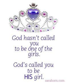 God's girl!