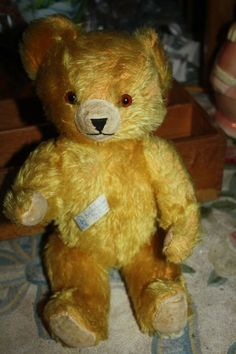 "20"" Vintage 1930s Knickerbocker Teddy Bear Lovable Latest Fashion Honey Mohair Fully Jointed"