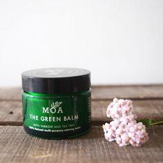 the green balm by magic organic apothecary, MOA London, natural skincare
