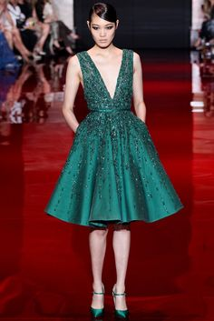 Elie Saab Fall 2013 Couture Fashion Show - Chiharu Okunugi (Women)