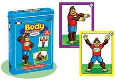 Yogarilla Body Awareness Card Deck - Super Duper Educational Learning Toy for Kids by Super Duper Publications. $15.95. Looking for a different way to not only get your child active but increase their body awareness?   Use the Body Awareness Fun Deck to help your child work on body scheme, spatial awareness, and visual perception skills while imitating OTis, the OT Gorilla.  You can choose the particular skill you want to improve, and have fun playing the suggested ...