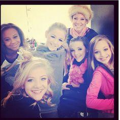 Nia, Paige, Chloe, Kendall, & Maddie...DANCE MOMS<3