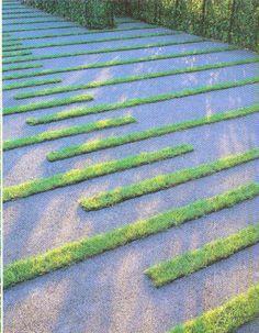 driveways pattern grass - Recherche Google