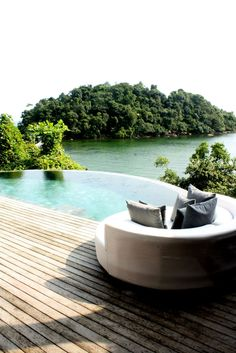 Magnificent Song Saa Resort in Cambodia 15 Hotels In Cambodia, Beach Vacation Spots, Destinations, Luxury Holidays, Island Resort, Cool Pools, Hotels And Resorts, Outdoor Gardens, Places To Travel