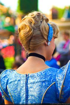 Cinderella at Magic Kingdom, Walt Disney World Disneyland Princess, Tokyo Disneyland, Disney Princess, Princess Power, Princess Party, Cinderella Cosplay, Cinderella Party, Cinderella Hairstyle, Cinderella Disney