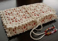 Crocheted crochet hook case by tintocktap, via Flickr  - Will make one in a larger format for circular knitting needles