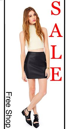 Ring in the New Year with Free Shop Stone Harbor!! Love this Leather Skirt from BB Dakota, 30% Off!! Free Shop Stone Harbor Open Everyday.
