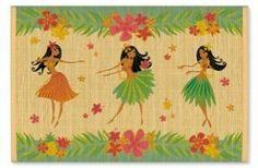 Hawaiian Bamboo Placemat Hula Honeys by IH, http://www.amazon.com/dp/B003Z04CQU/ref=cm_sw_r_pi_dp_859Urb19564NN