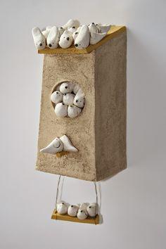 My latest sculptural ceramists crush - Anne-sophie Gilloen
