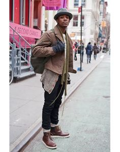 New York Street Style Photos by Ben Ferrari - Men's Street Style