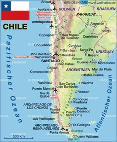 Chile people found 44 images on pinterest created by o r lia map of chile map in the atlas of the world world atlas gumiabroncs Choice Image