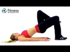 OMG: Oh My Glutes - Cardio, Butt and Thigh Workout by Fitness Blender - YouTube