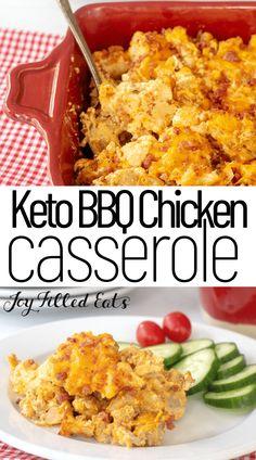 Low Carb Chicken Recipes, Healthy Pasta Recipes, Healthy Pastas, Keto Recipes, Dinner Recipes, Keto Chicken Casserole, Casserole Recipes, Rigatoni, Prosciutto