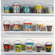We lived by the Gulf of Mexico when I was small, my fondest memory of my mother and I , we would go to the beach with buckets like these and fill them with all sorts of sea wonderment.