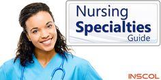 Here's Your Own Guide to Nursing Specialties - Inscol Evidence Based Nursing, Nursing Journal, Nursing Articles, Nclex Rn, Nursing Career, Nursing Students, Higher Education, Nurses, Clinic